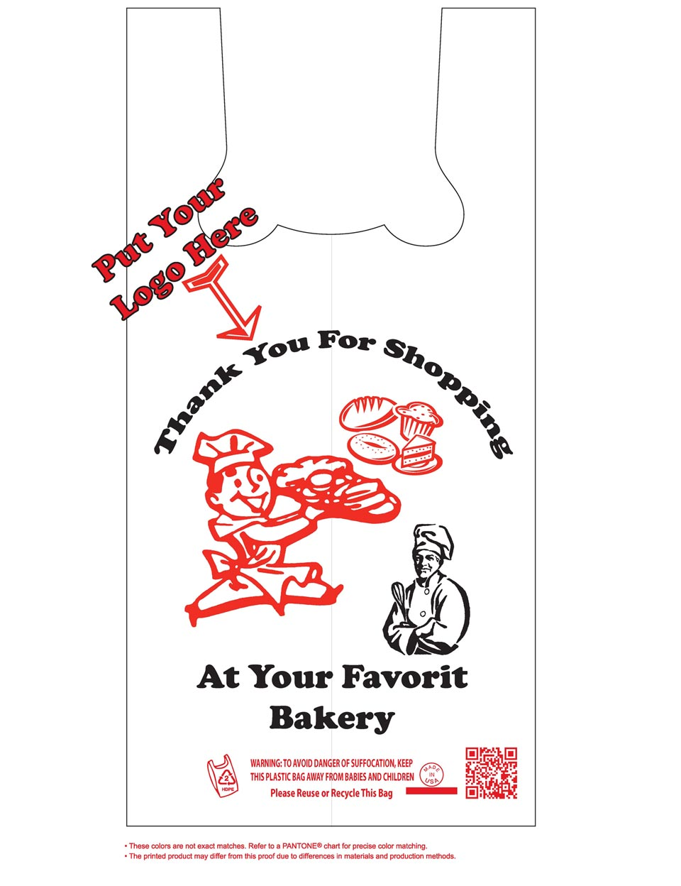 Plastic bag for you - You Can Rely On Ans Plastics For Your Quality Bakery Bags