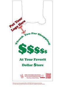 Dollar Store T-Shirt Bags