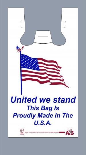 US Flag Bag