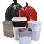 LDPE / HDPE Garbage bags Tuff Bags 8-10 Gal