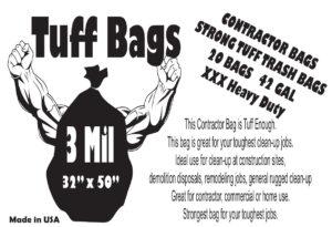 Tuff bags