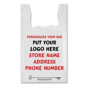 Custom printed Tshirt Bags